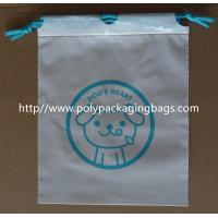 Buy cheap Lovely Drawstring Plastic Bags For Children Toy And Books / Kids Gift/Printing Packaging Poly Bags from wholesalers