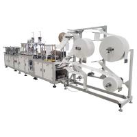 Buy cheap Full Automatic N95 disposable mask pack machine equipment,KN95  surgical mask making machine from wholesalers