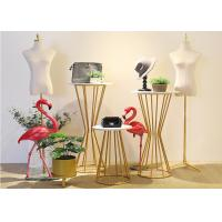 Buy cheap Chromping Finish Metal Display Rack 500*1130mm For Clothes Shop / Shoes Shop from wholesalers