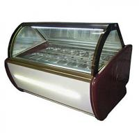 Buy cheap Fan Cooling Ice Cream Freezer Case -16~-22℃ With Digital Temp Controller from wholesalers