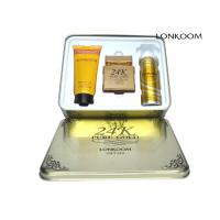 Lonkoom 24k Pure Gold Perfume Gift Sets With GMPC / ISO22716 / MSDS