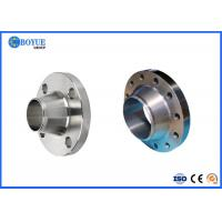 Buy cheap Forged Durable Petroleum Alloy Steel Pipe Flange High Tensile Strength For Pipe Industry from wholesalers