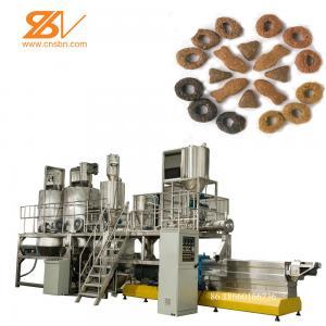 Wholesale 2 Screw Dog Food Pellet Making Machine 150-5000 Kg/h Capacity Schneider Inverter from china suppliers