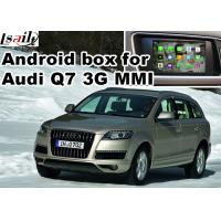 China Android car navigation box for Audi Q7 multimedia video interface on sale