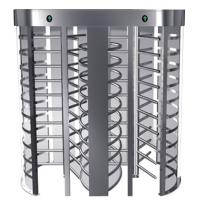 Dual full height turnstile for pedestrian access control for airport, supermarket Manufactures