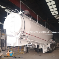 Buy cheap Welding 28t Landing Gear Q235 45CBM Cement Trailers from wholesalers