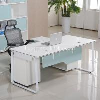 Korea style modern computer furniture home office chipboard