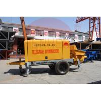Buy cheap Trailer Mount Electric Concrete Pump 50m3 Maximum Output High Maintainability product