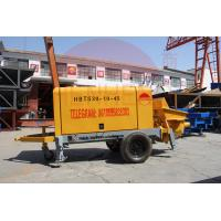 Wholesale Trailer Mount Electric Concrete Pump 50m3 Maximum Output High Maintainability from china suppliers