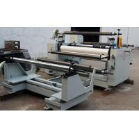 Non Woven Film Slitting Machine Paper Fabric Automatic Roll Slitting Rewinding Machine Manufactures