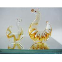 Buy cheap Mixed Color Art Sculpture Glass Snake , Handmade Glass Animals For Wedding from wholesalers