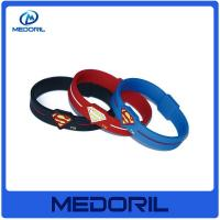 Wholesale Fashion double sided silicone wristband / hot sale silicone bracelet for promotion gifts from china suppliers