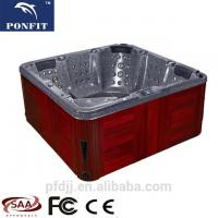 Buy cheap Relax Freestanding Whirlpool Tub 2200*2200*900MM With Corner Drain Location from wholesalers
