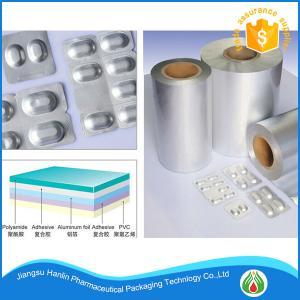 China Alu alu aluminum foil tablets pharmaceutical blister packaging on sale