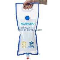 Buy cheap 5L BPA Free Collapsible Water Bottle Foldable plastic Water Bag for Promotional/Camping/Climbing/Picnic/BBQ bagease pack from wholesalers