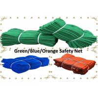 Buy cheap Green/Blue/Orange Color Construction Safety Net for Asian Market from wholesalers