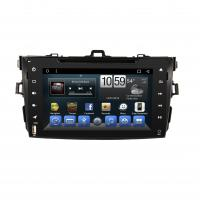 Buy cheap 8-inch Toyota Corolla 2007-2011 Full-touch Android Car Audio System with  FM RDS CarPlay 4G SIM Mirror-Link Blueooth GPS from wholesalers
