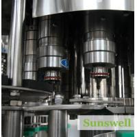 High Filling Speed Tea Filling Machine Durable For Hot Fruit Juice / Tea Manufactures