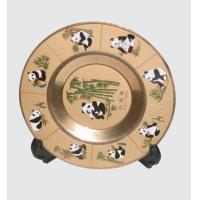 Buy cheap Color Metal Souvenir Trays Chinese Style from wholesalers