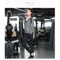 Buy cheap Light Weight Womens Sports Coat , Ladies Sports Coats Long Sleeve Zipper Front from wholesalers