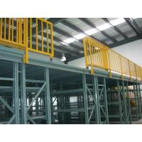 Buy cheap Easy Installation Steel Multi Tier Mezzanine Rack For Warehouse Storage from wholesalers