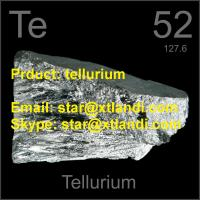 Wholesale tellurium price cas:13494-80-9 crystal TELLURIUM Email:star@xtlandi.com tellurium crystal TELLURIUM from china suppliers