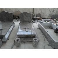 Buy cheap Classic Granite Memorial Headstones Carved / Custom Surface SGS Approved from wholesalers