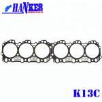 Buy cheap Diesel Hino K13C Engine Cylinder Head Gasket from wholesalers