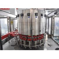Buy cheap Automatic 3 In 1 Hot Filling Machine , Blueberry Juice Making Machine For Glass Bottle from wholesalers