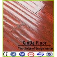 Buy cheap ac3/4/5 hdf water resistant waxed wooden floor laminate flooring unilin click from wholesalers