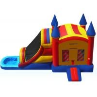 Buy cheap Funny Inflatable Bouncer Combo WIith Water Slide  , Toddler Blow Up Fun House from wholesalers