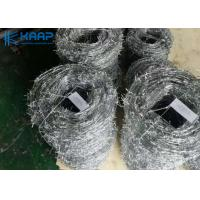 Wholesale Prison Razor Barbed Wire , Razor Wire Mesh Hot Dipped Galvanized Treatment from china suppliers