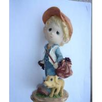 Buy cheap Polyresin Boy Statue from wholesalers