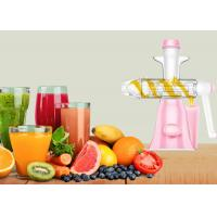 Buy cheap Durable Manual Juice Maker No Electricity Needed Fruit Ice Cream Making Machine product