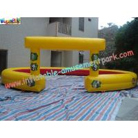 Buy cheap Car Race Track With High-Quality PVC Tarpaulin Inflatable Sports Games Race product