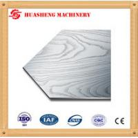 Buy cheap 304 410 Stainless Steel Press Plates With Cloth Texture For Melamine Furniture Board from wholesalers