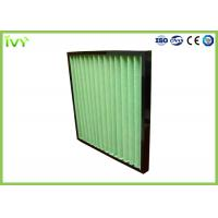Buy cheap G4 Pleated Prefilter Replacement Air Filter Easy Installation With Plastic Frame from wholesalers