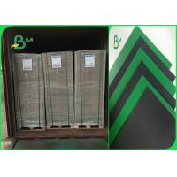 Buy cheap 1.2mm Green / Black Colored Moistureproof Cardboard Sheets For Lever Arch File from wholesalers