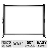 Buy cheap Electric Fixed Projection Screens For Tabletop Presentation , Retractable from wholesalers