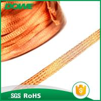China manufacturer electric house T2 bare copper braided wire Manufactures