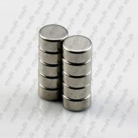 Buy cheap N35 nickel-plating disc sintered ndfeb magnet from wholesalers