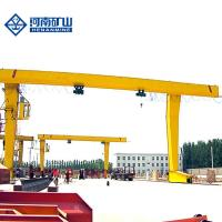 Buy cheap Remote Control Garage Gantry Crane , Single Beam Mobile Overhead Crane from wholesalers