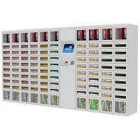Magazine / Book School Supply Vending Machine , Outdoor Safety Supply Vending Machines Manufactures