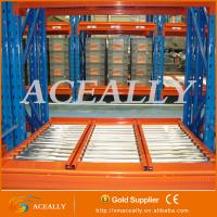 Buy cheap Gravity roller rack,heavy duty warehouse rack from wholesalers