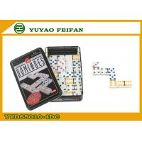 Buy cheap Colorful Personalized Dominoes Game Set Double Six Dominoes Set from wholesalers