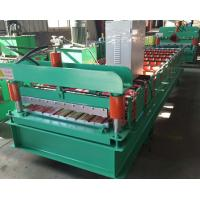Buy cheap 910 Type Wall Sheet Roll Forming Machine 380v 50hz 3 Phase 7-12m/Min Working Speed from wholesalers