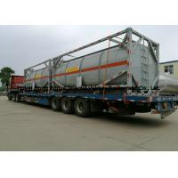 Buy cheap 20ft Hydrochloric acid, Sodium hypochlorite Tank Containers Steel Lined PE 16mm from wholesalers