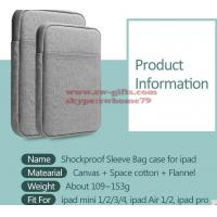 Buy cheap Shockproof Tablet Sleeve Pouch Case 2017 new for iPad mini 2 3 4 iPad Air 1/2 Pro 9.7 inch Cover thick AKR from wholesalers