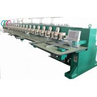 Buy cheap Mixed Chain-stitch / Chenille Embroidery Machine , Flat Computerized Embroidery Machine from wholesalers