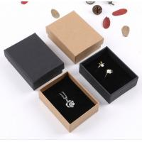 Buy cheap Brown & Black Corrugated Paper Box Jewelry Packing For Valentine'S Day Gift from wholesalers